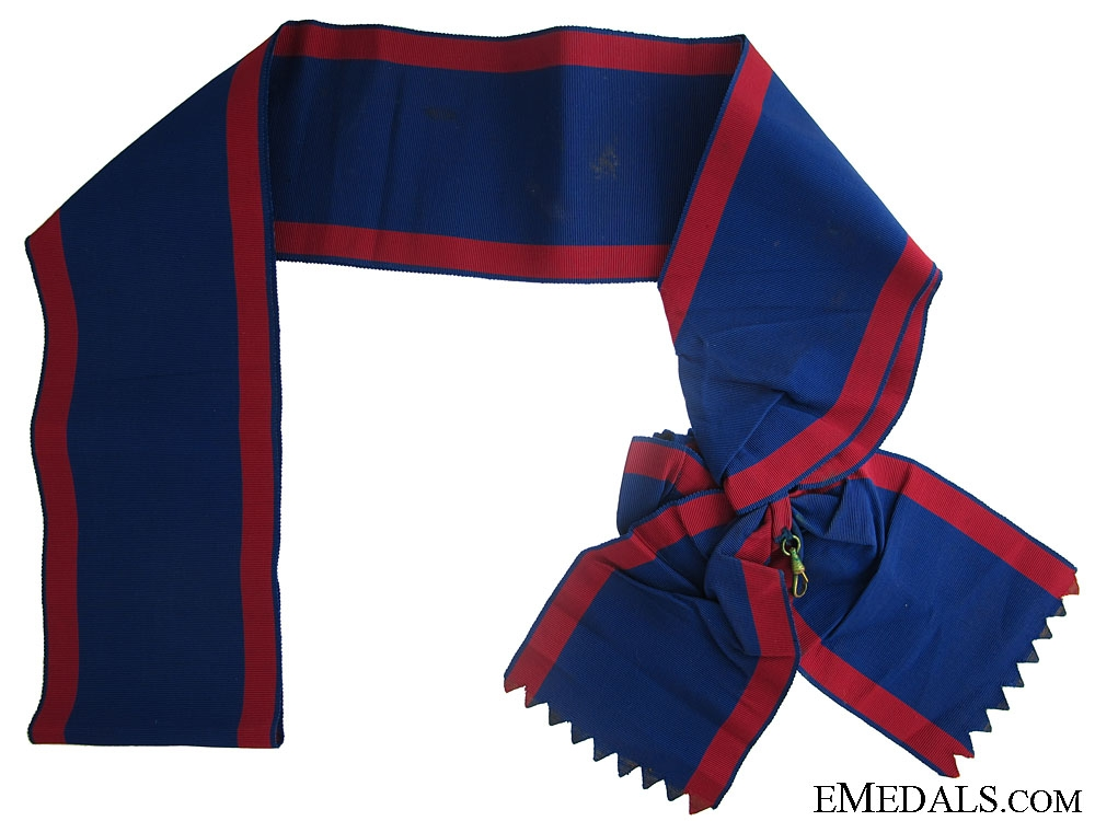 "Order of Ismail 1915 ""¢¤ Sash"