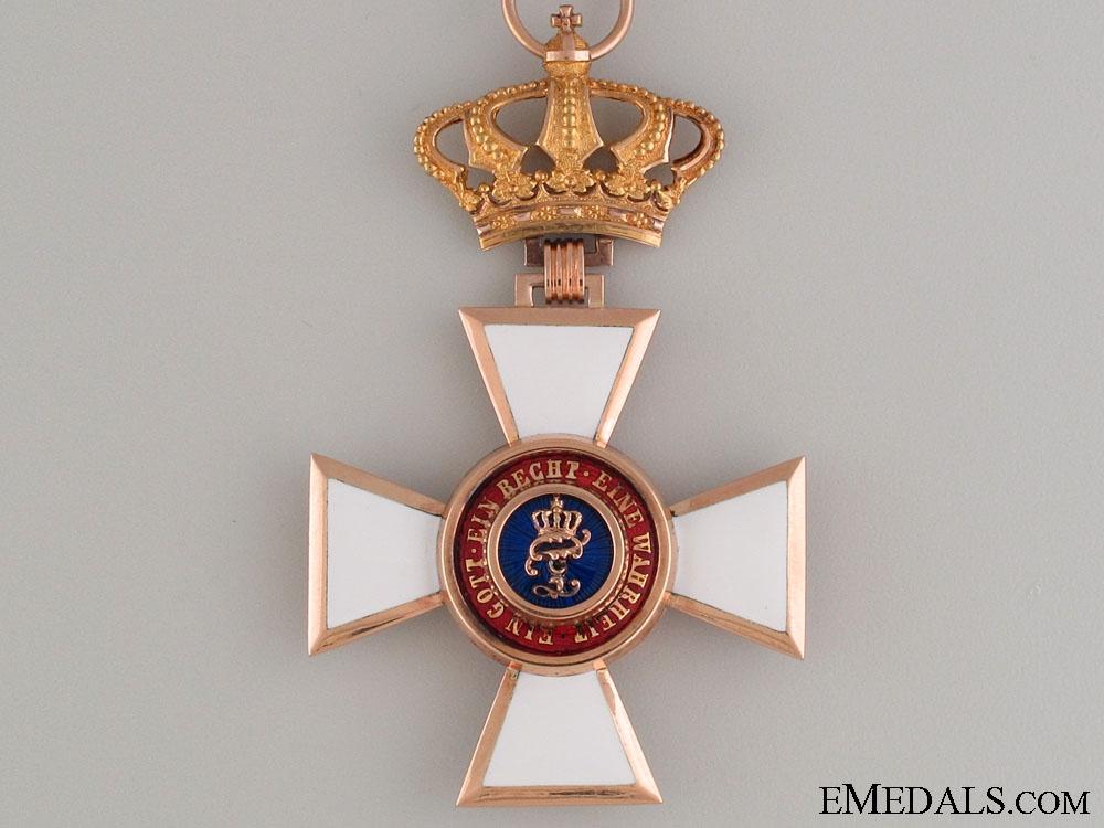 Order of Peter Friedrich Ludwig-Commander's Cross
