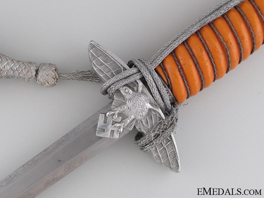 Second Model Luftwaffe Dagger By F.W. H¡_ller