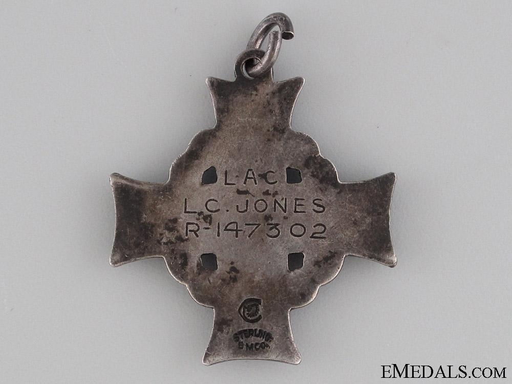 The Memorial Cross of American LAC JONES