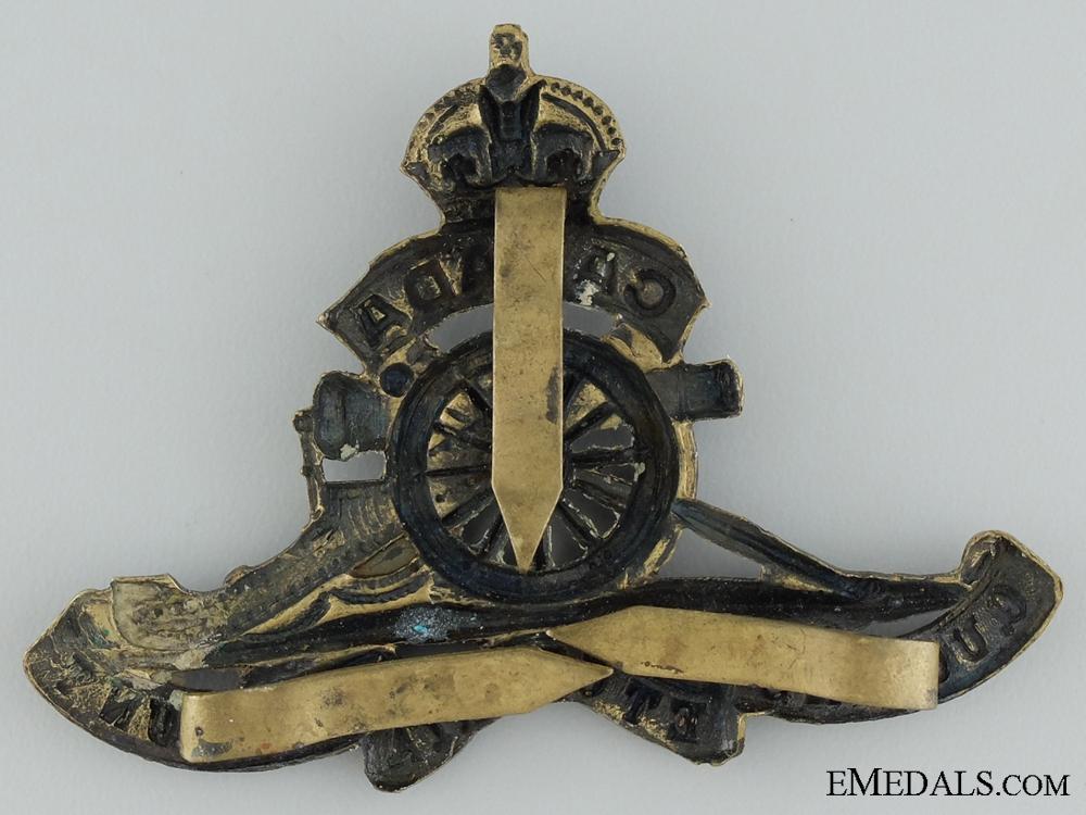 WWI Canadian Field Artillery Cap Badge