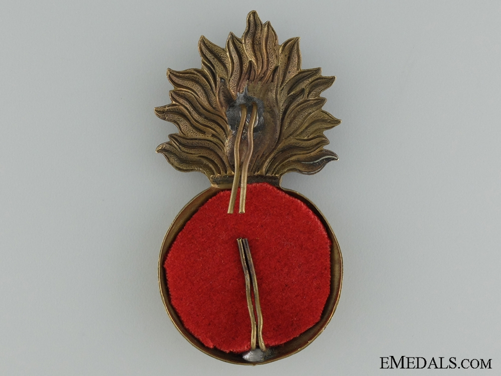 Pre-WWI 62nd Regiment Saint John Fusiliers Cap badge