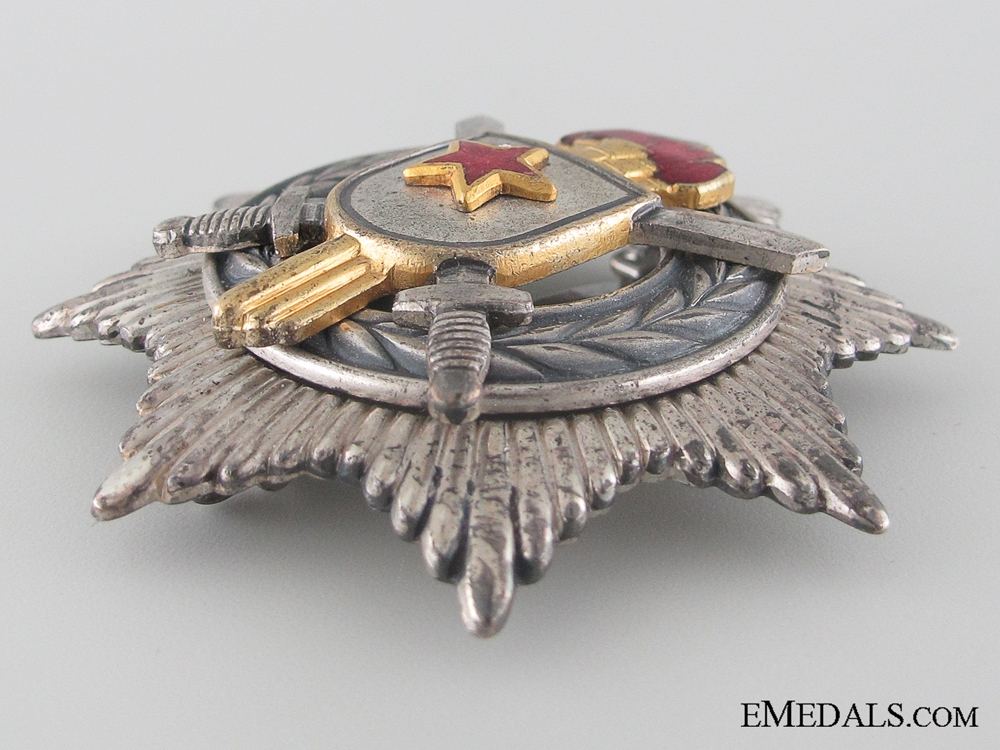 Order of Military Merit - 3rd Class with Silver Swords
