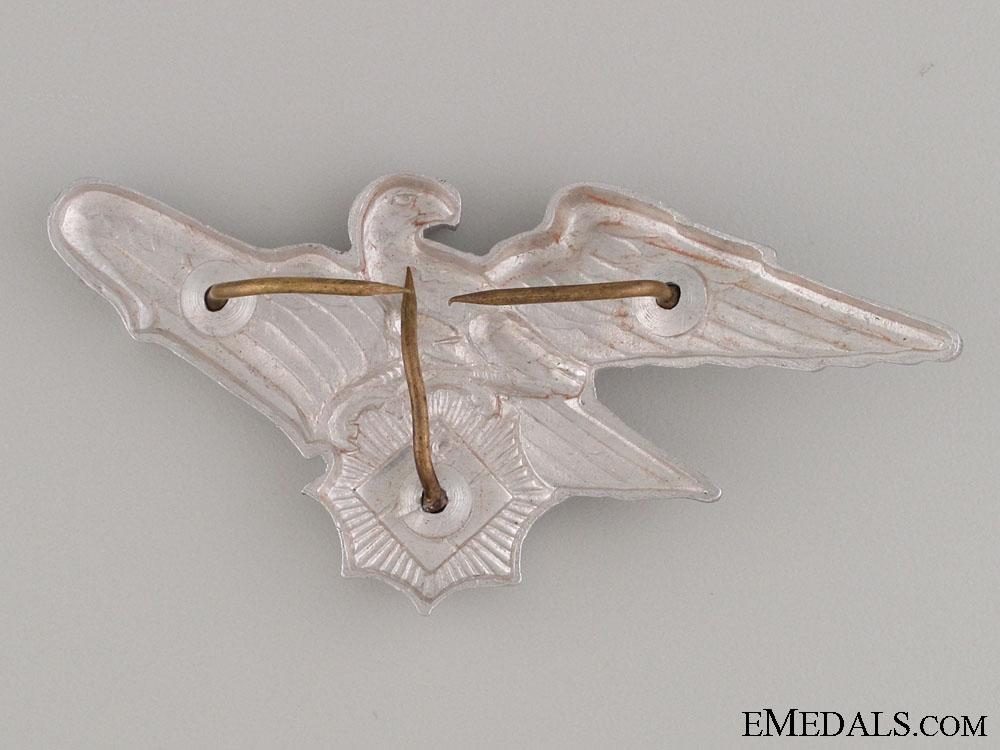 Reichsluftschutz Bund Cap Badge