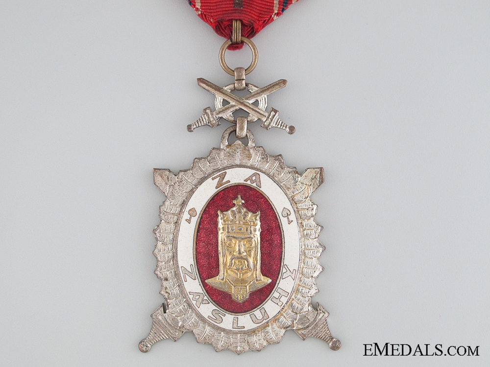 The Order of Charles IV - Second Class