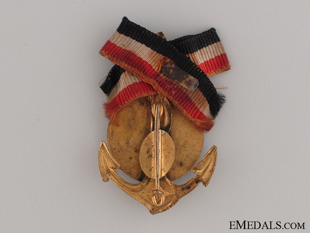Hamburg Naval Veteran's Association Pin