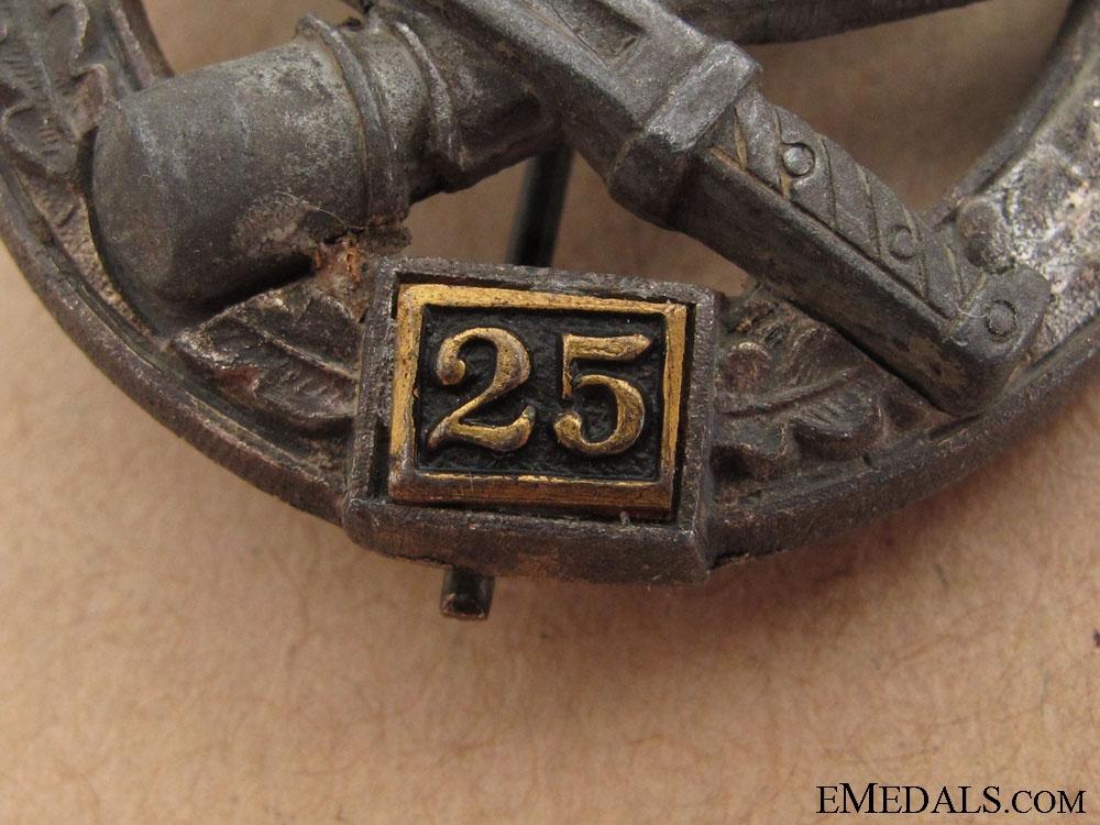 Special Grade Assault Badge - Twenty Five