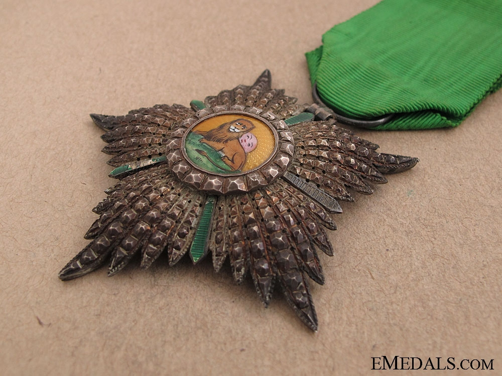 Order of Lion and Sun - Knight's Badge