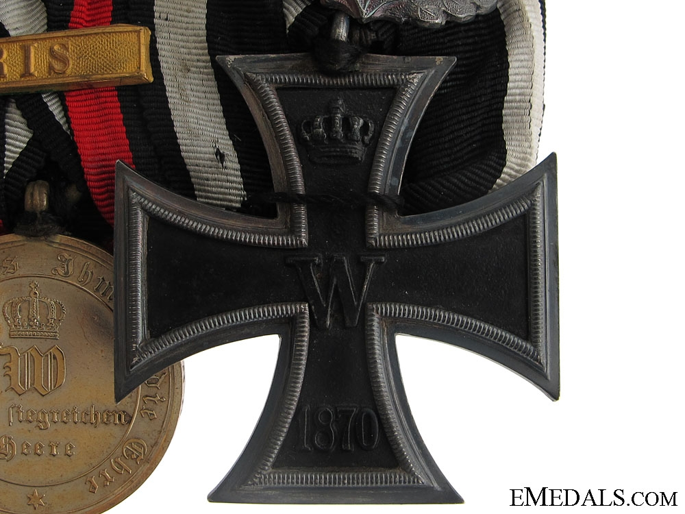 Prussian-French War of 1870-71 Medal Bar