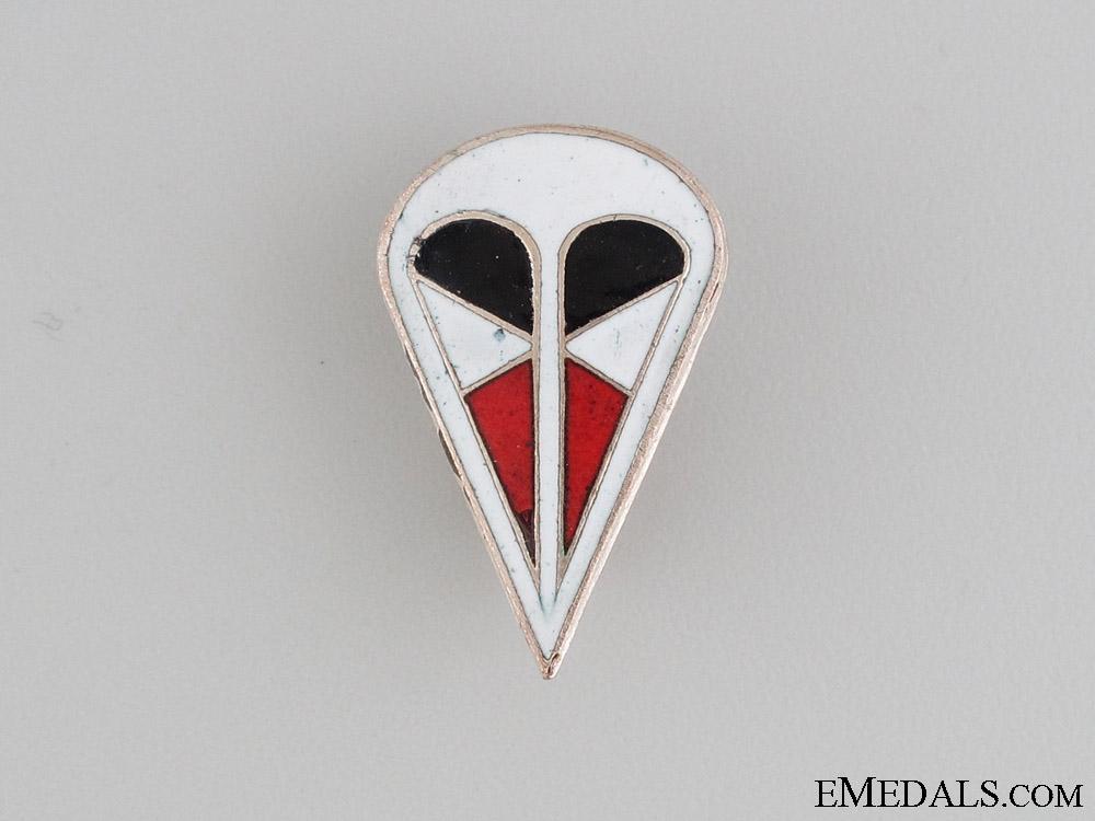 German 1st Parachute Corps Cap Badge