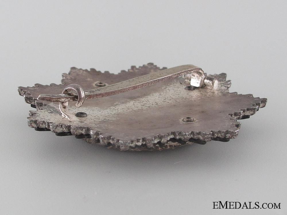 A Rare German Cross in Silver by Zimmermann