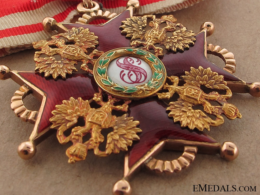 Order of St. Stanislaus - Second Class