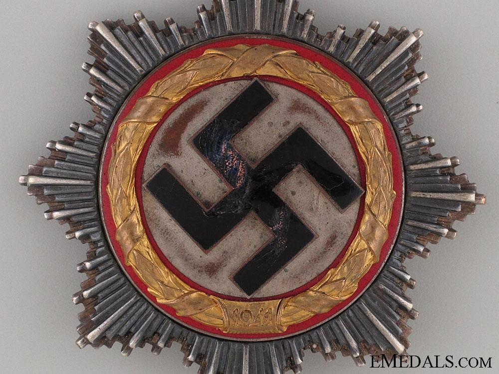 A German Cross in Gold by Juncker