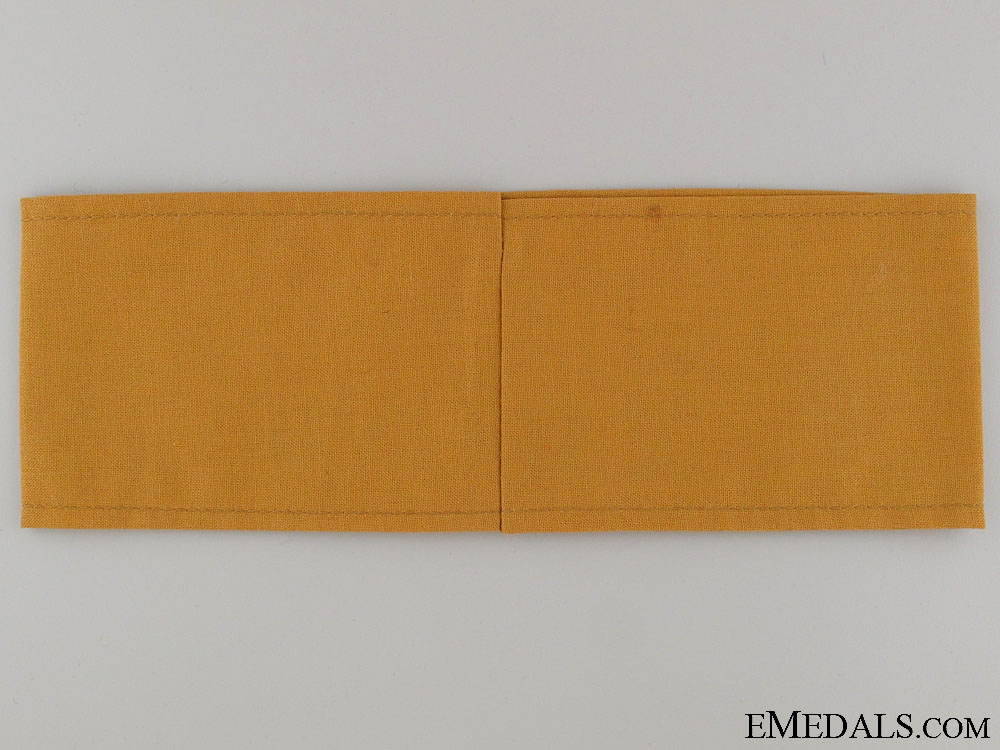 WWII Jewish National Group Armband