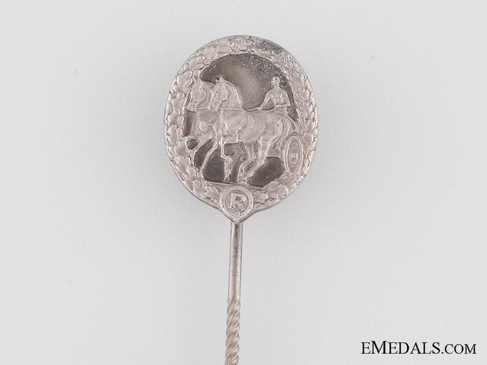 German Horse Driver's Badge Stickpin