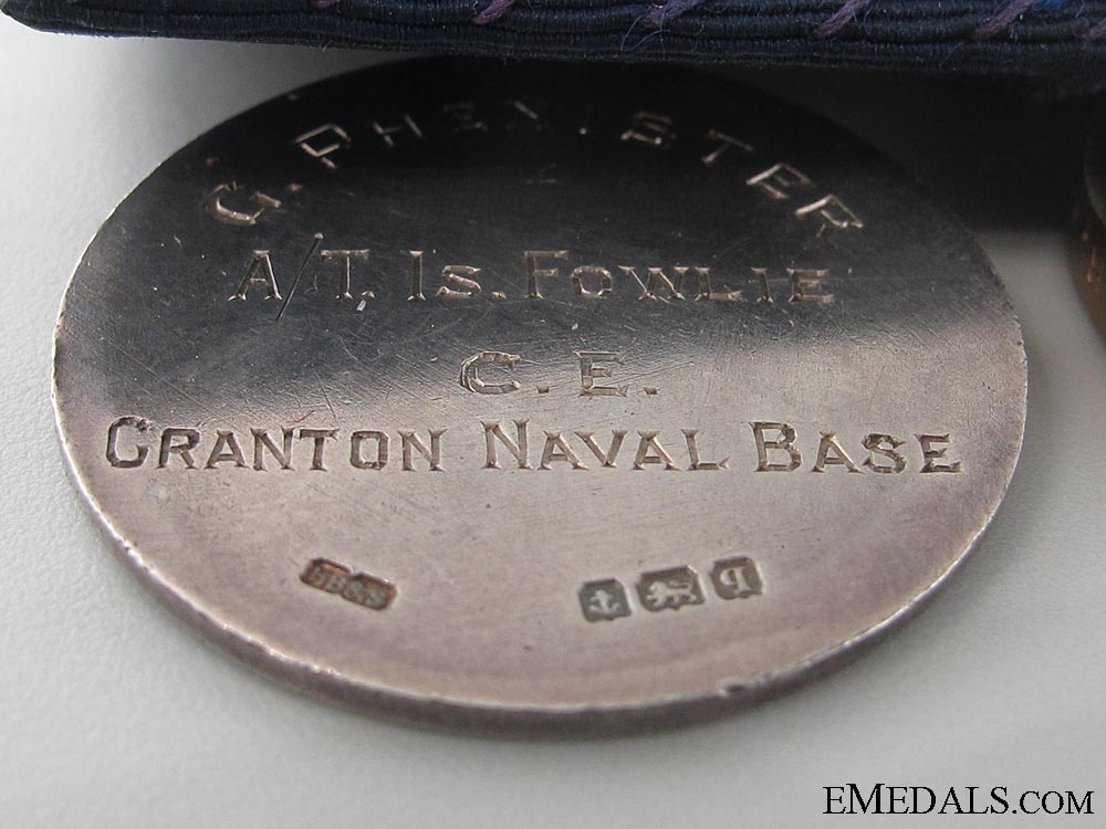 A Rare WWI Graton Naval Base & D.S.M. Group