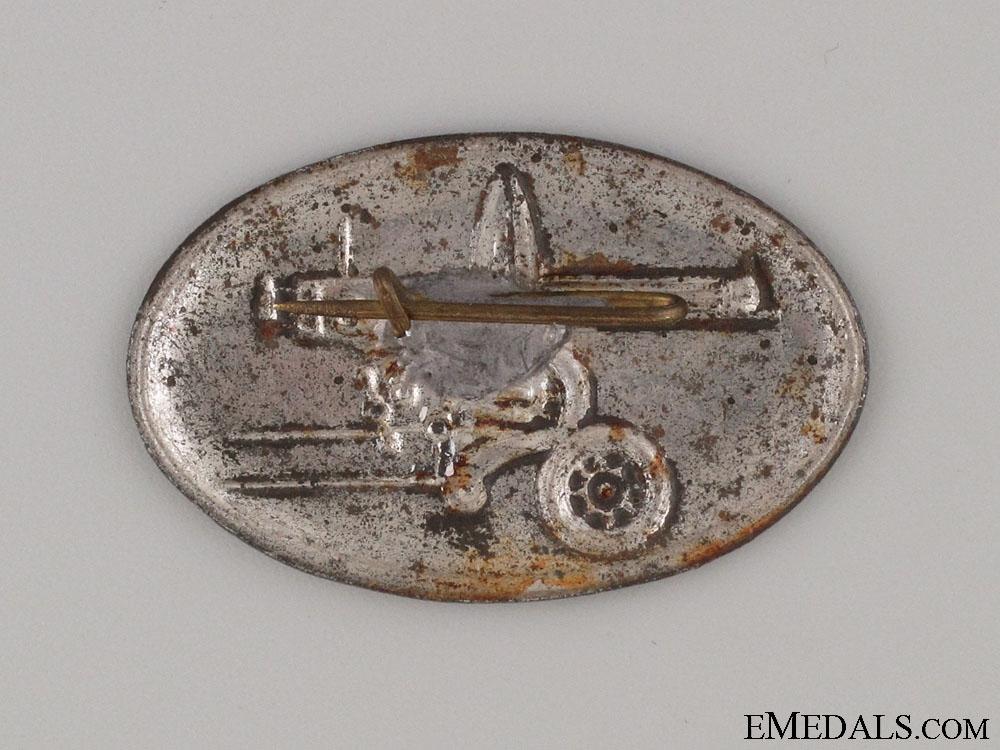 Spanish Civil War Communist Machine Gun Badge