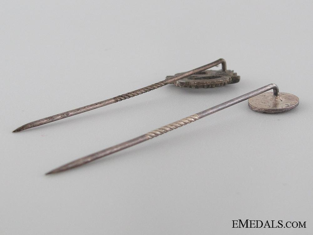 Two WWII German Stickpins
