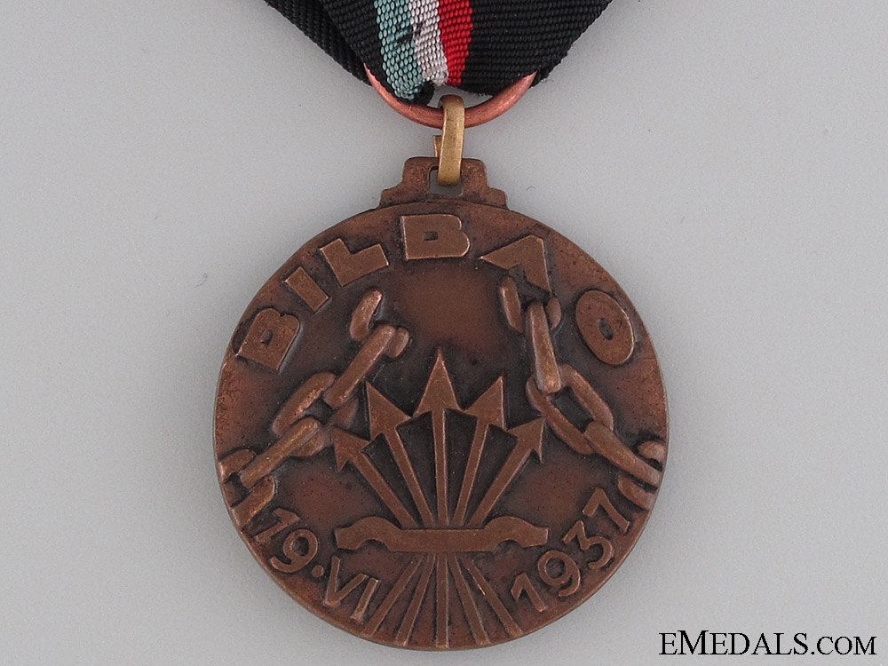 Battle of Bilbao Commemorative Medal 1937