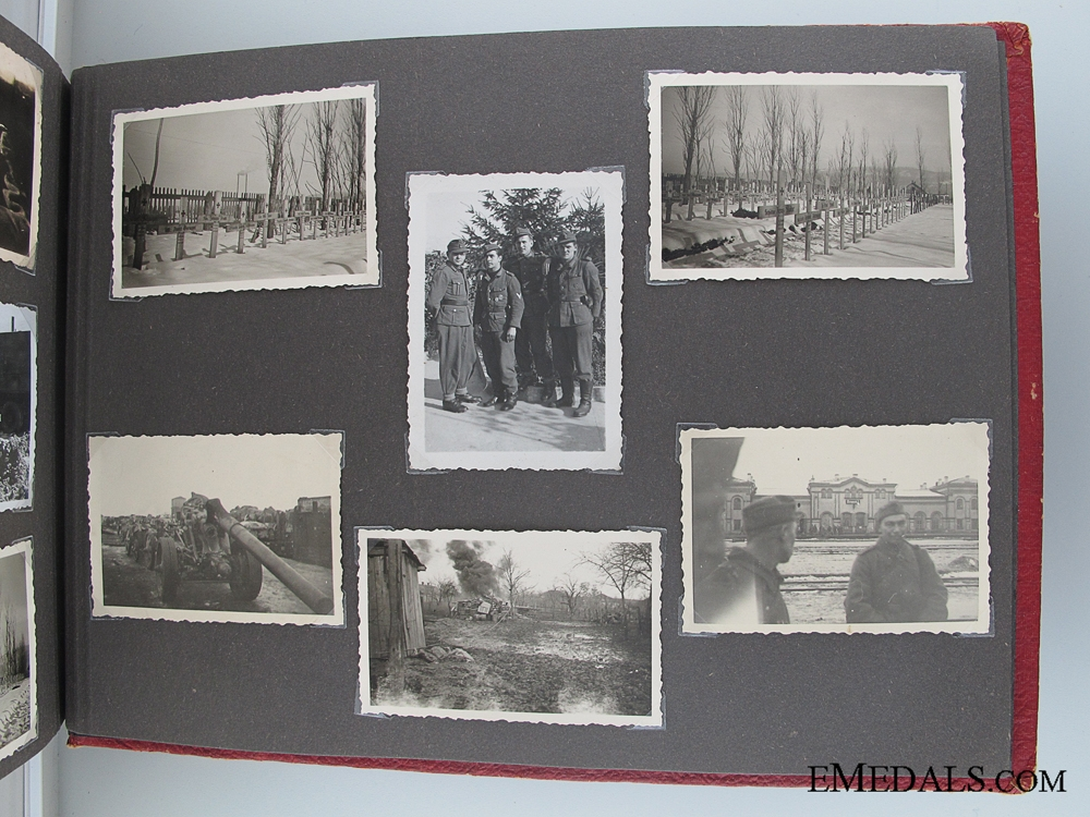 WWII Wehrmacht War Memories Photo Album