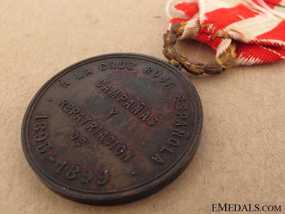Red Cross Medal 1895-1899