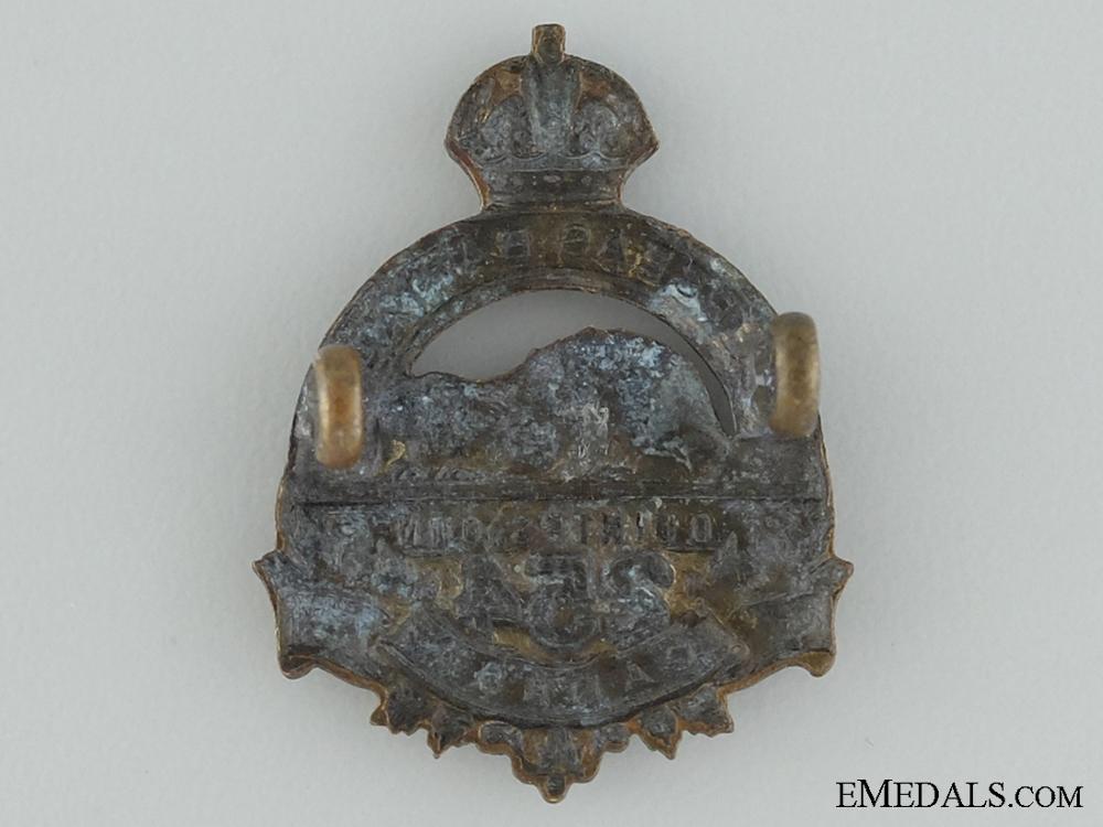WWI 254th Infantry Battalion Collar Badge CEF