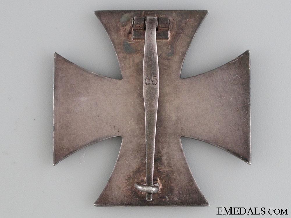 Iron Cross First Class 1939 by Klein & Quenzer