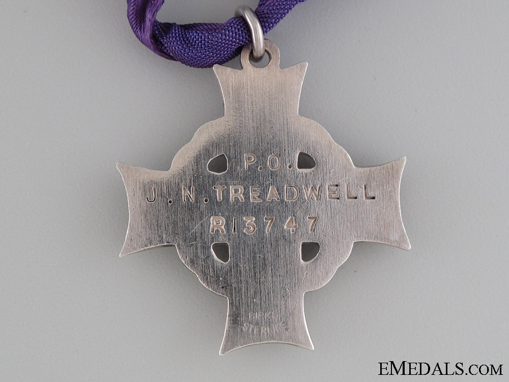 A Memorial Group to Pilot Officer Treadwell RCAF