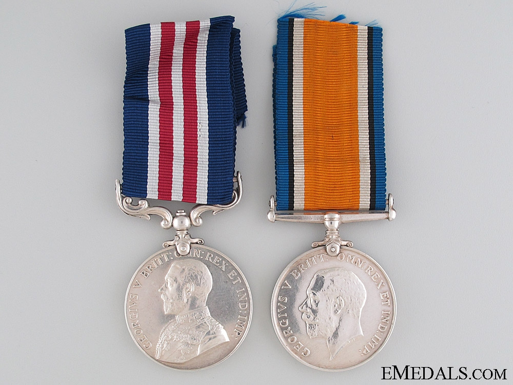 A First War Military Medal to a Canadian Metis