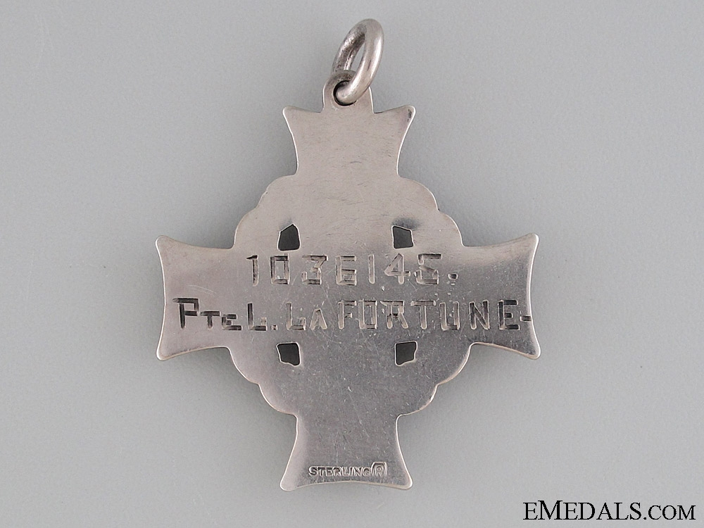 Memorial Cross to the Canadian Foresty Corps