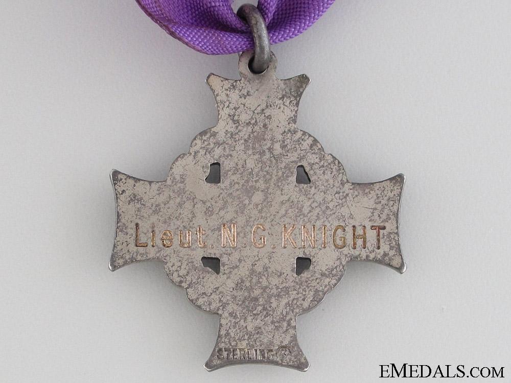 WWI Memorial Cross of Lieutenant N.G. Knight