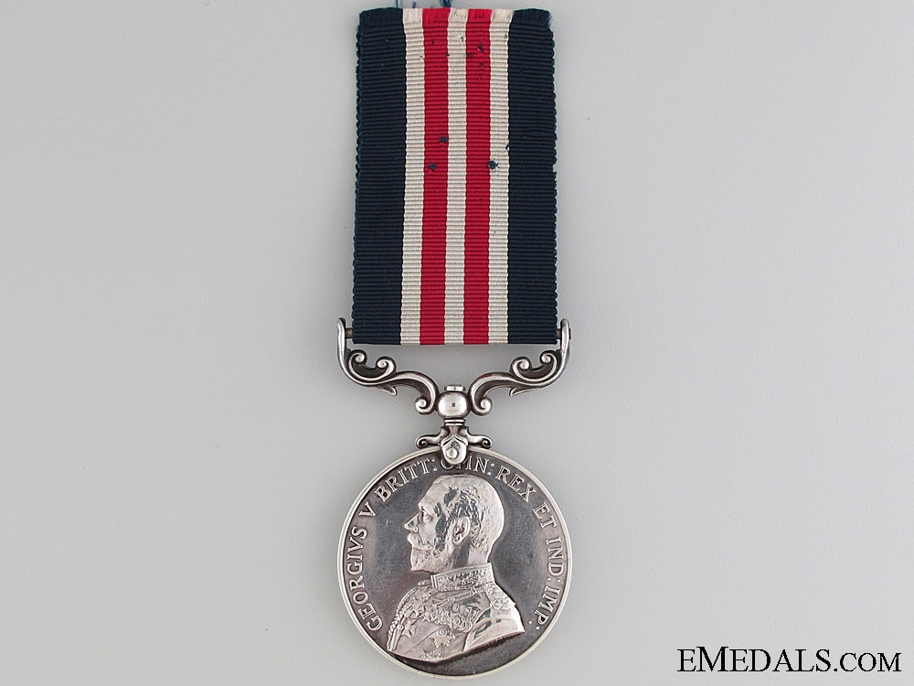 A Fine M.M. Awarded for Escaping Germany Captivity
