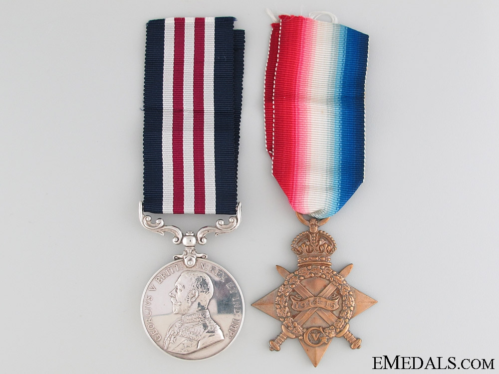 A Twice Wounded Vimy Ridge Military Medal