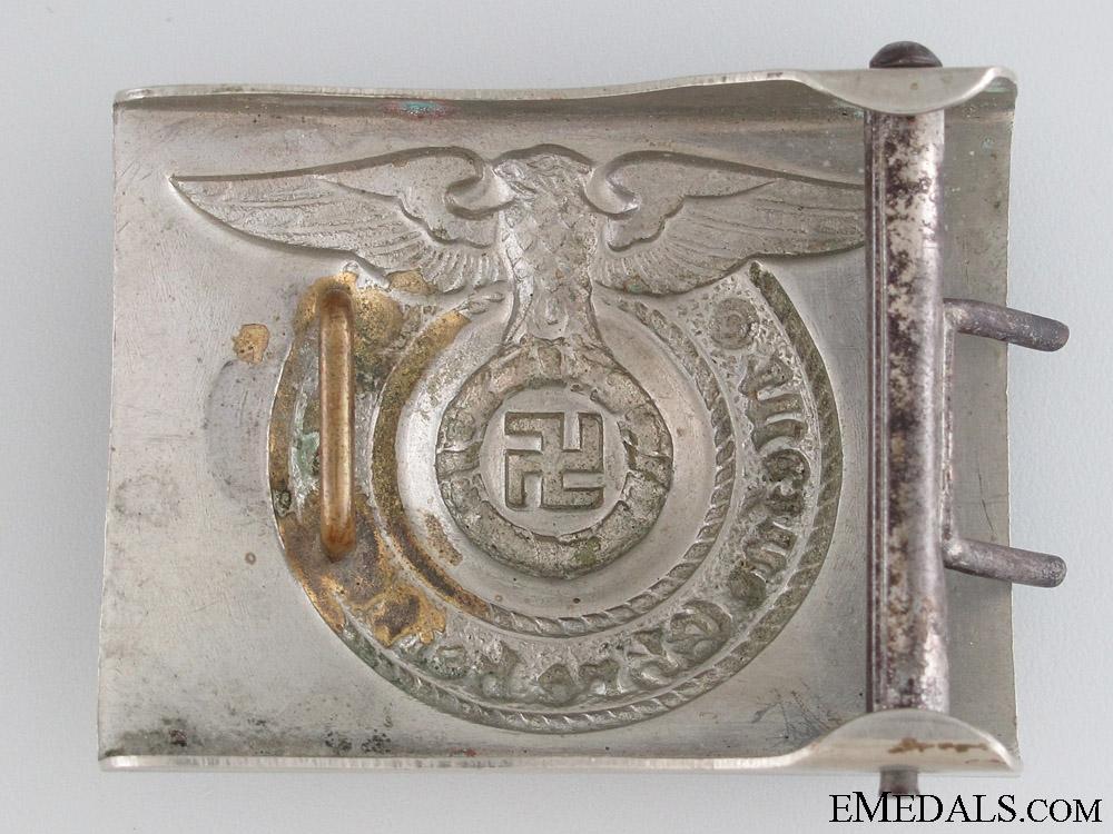 """SS EM/NCO'S """"Fat Eagle"""" Belt Buckle"""