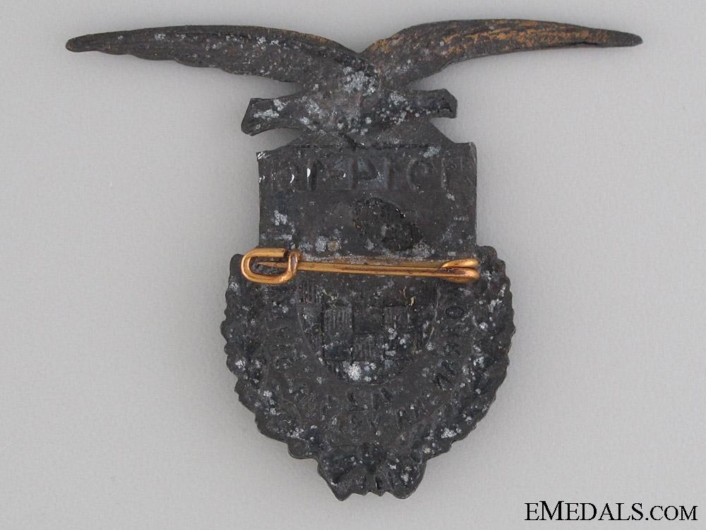 WWI Croatian Devil's Division Badge