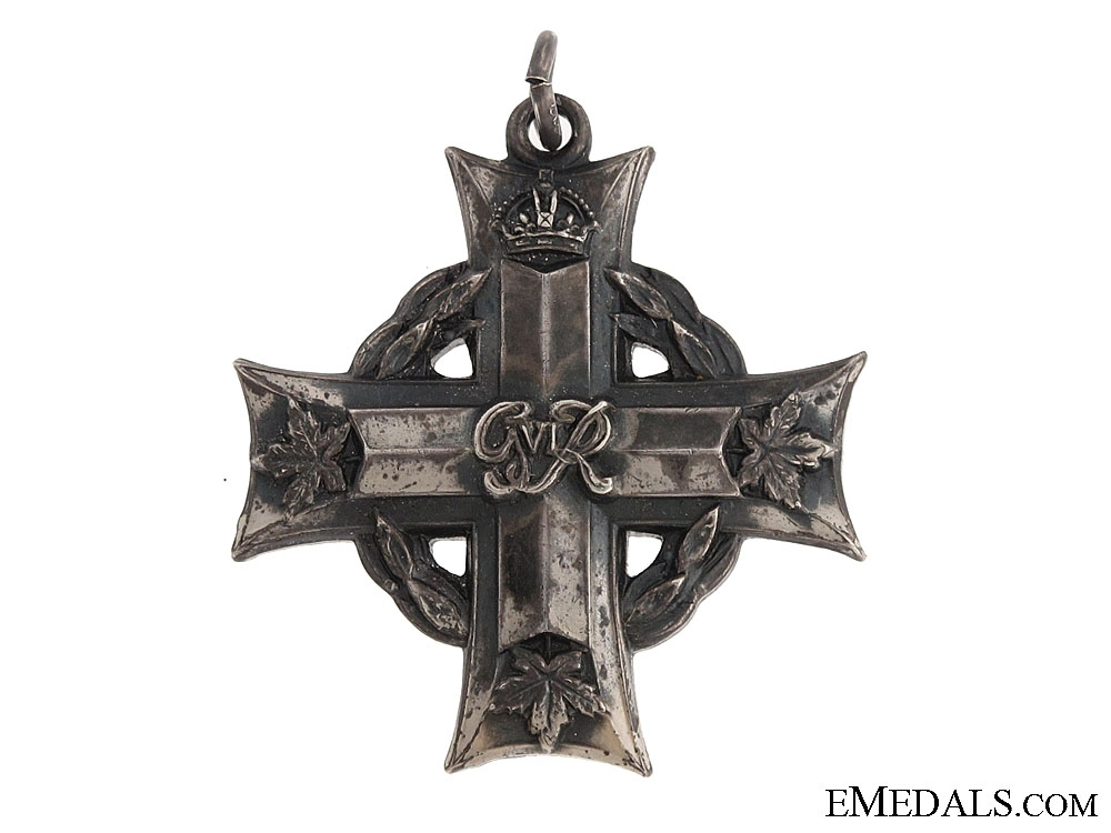 The Memorial Cross of Lieutenant P.G.West