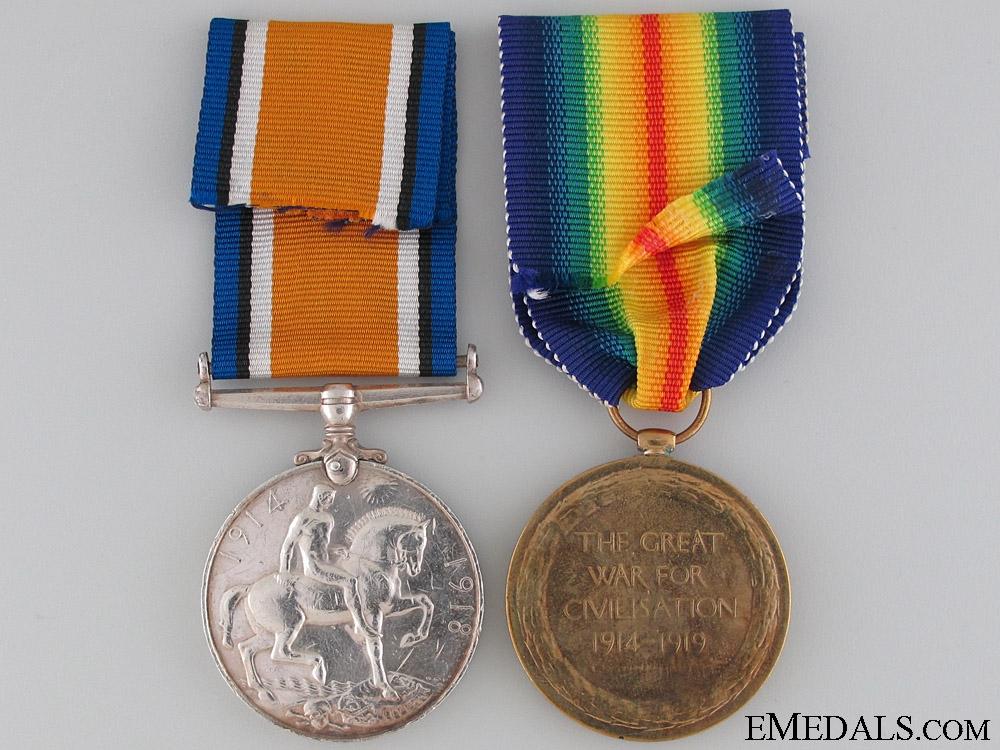 A First War Canadian Pair to M.M. Winner
