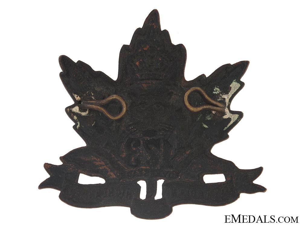 "WWI 173rd Infantry Bn ""Canadian Highlanders"" Cap Badge - CEF"