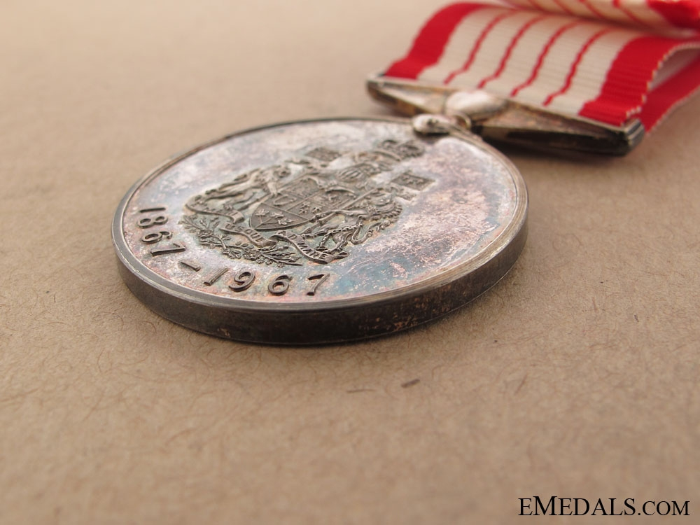 Canadian Centennial Medal, 1967