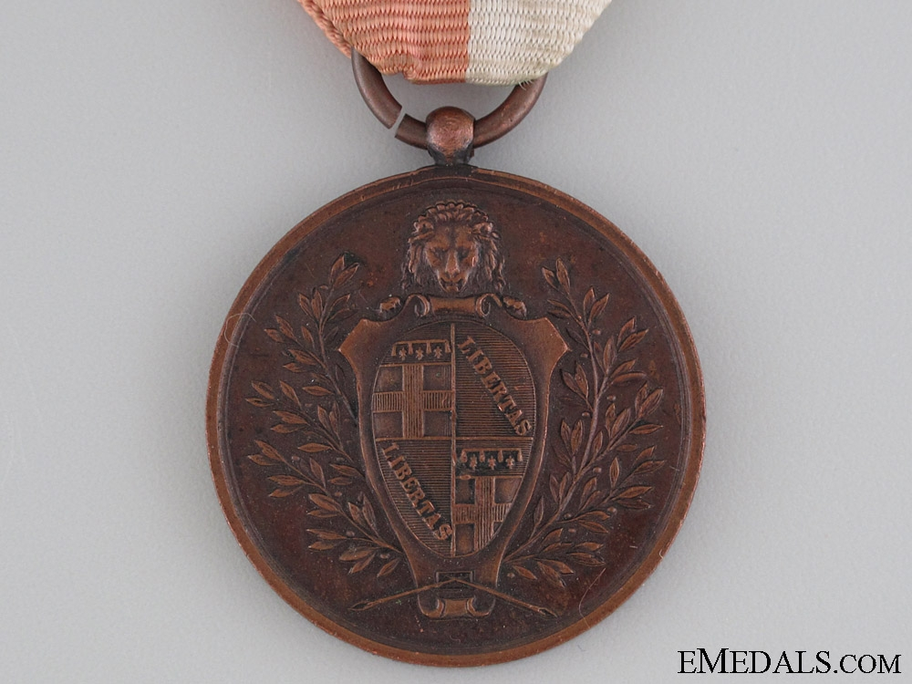 Bologna Combatants and Survivors Medal 1848