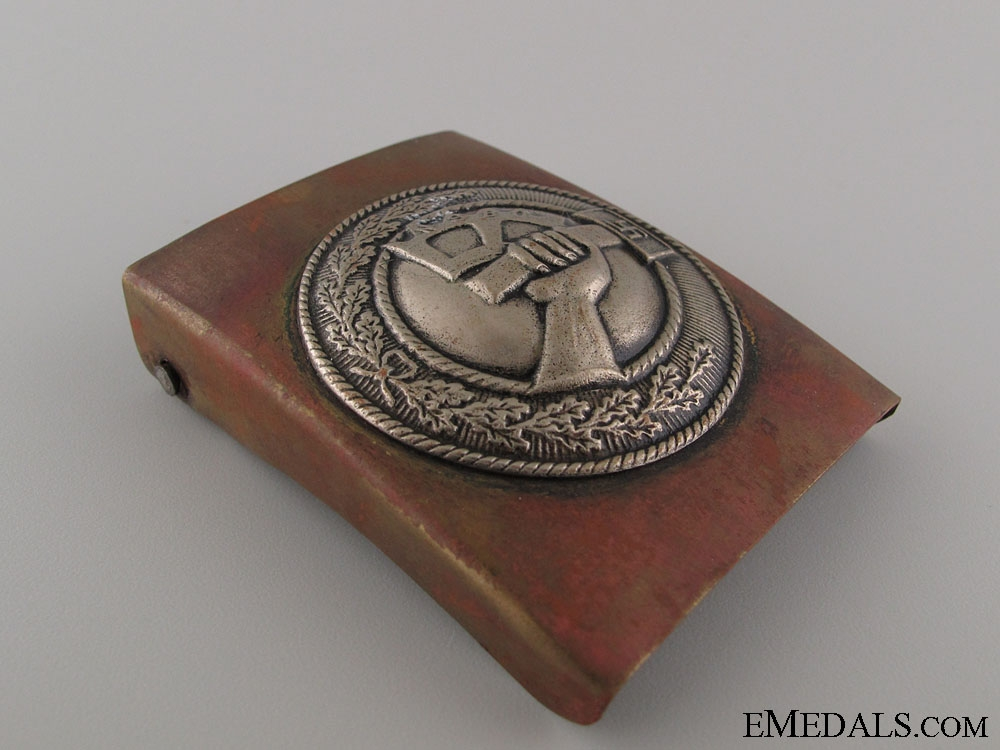 NSBO Enlisted Buckle