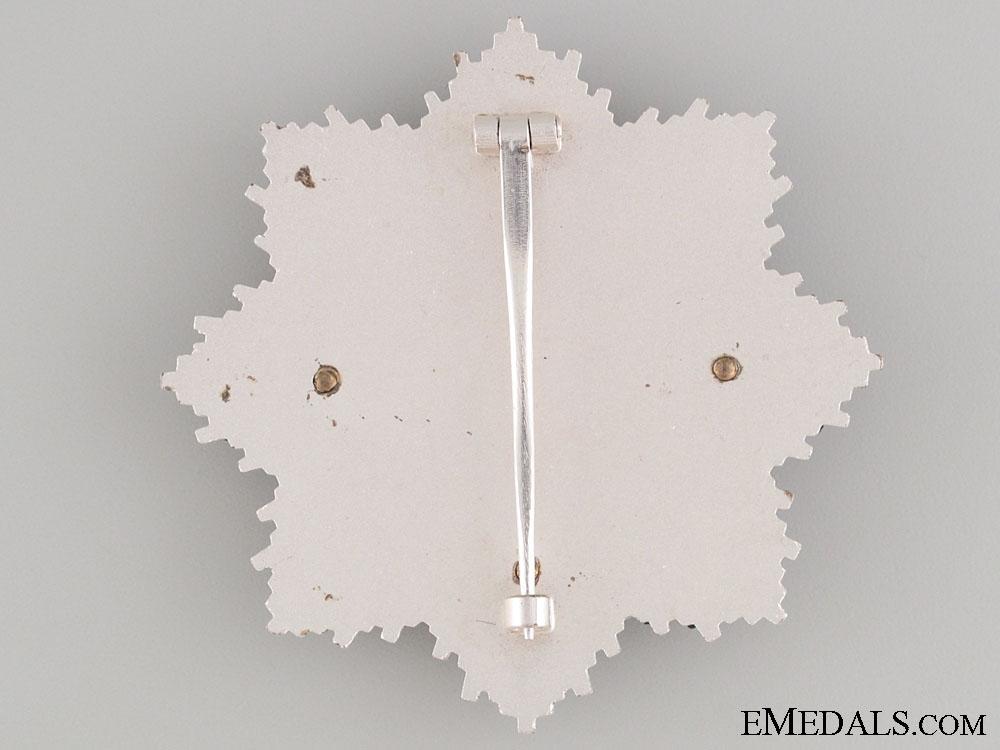 German Cross in Silver - 1957 Version