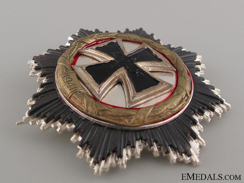 German Cross in Gold - 1957 Version