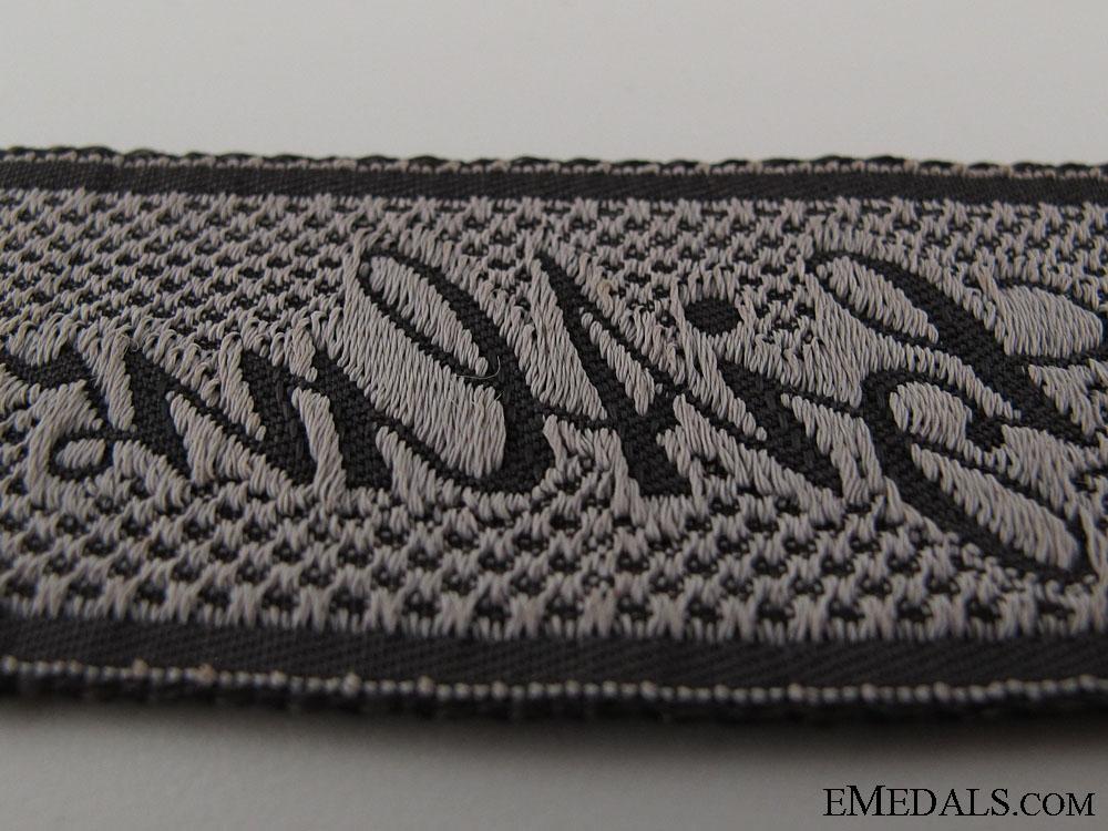 "EM/NCO's ""Liebstandarte SS Adolf Hitler"" Cufftitle"