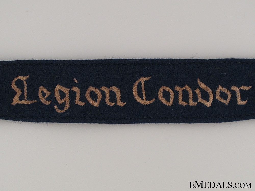 A Worn Legion Condor Cufftitle