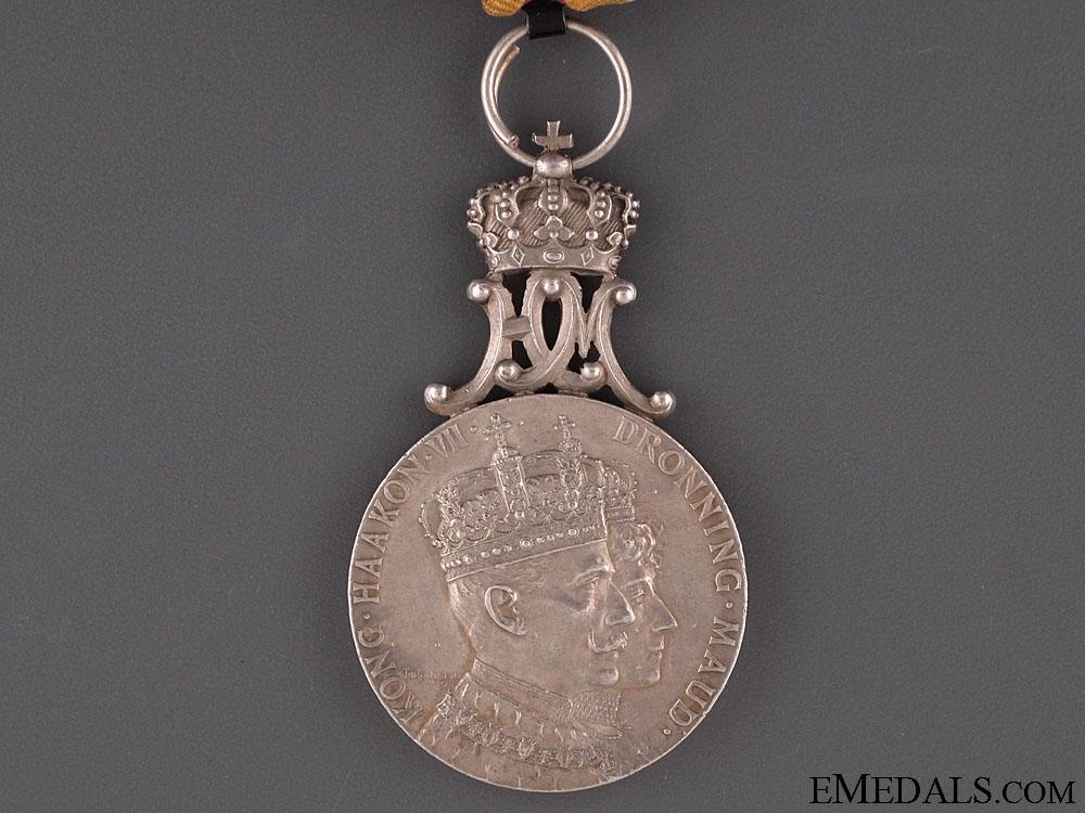 King Haakon VII Coronation Medal 1905