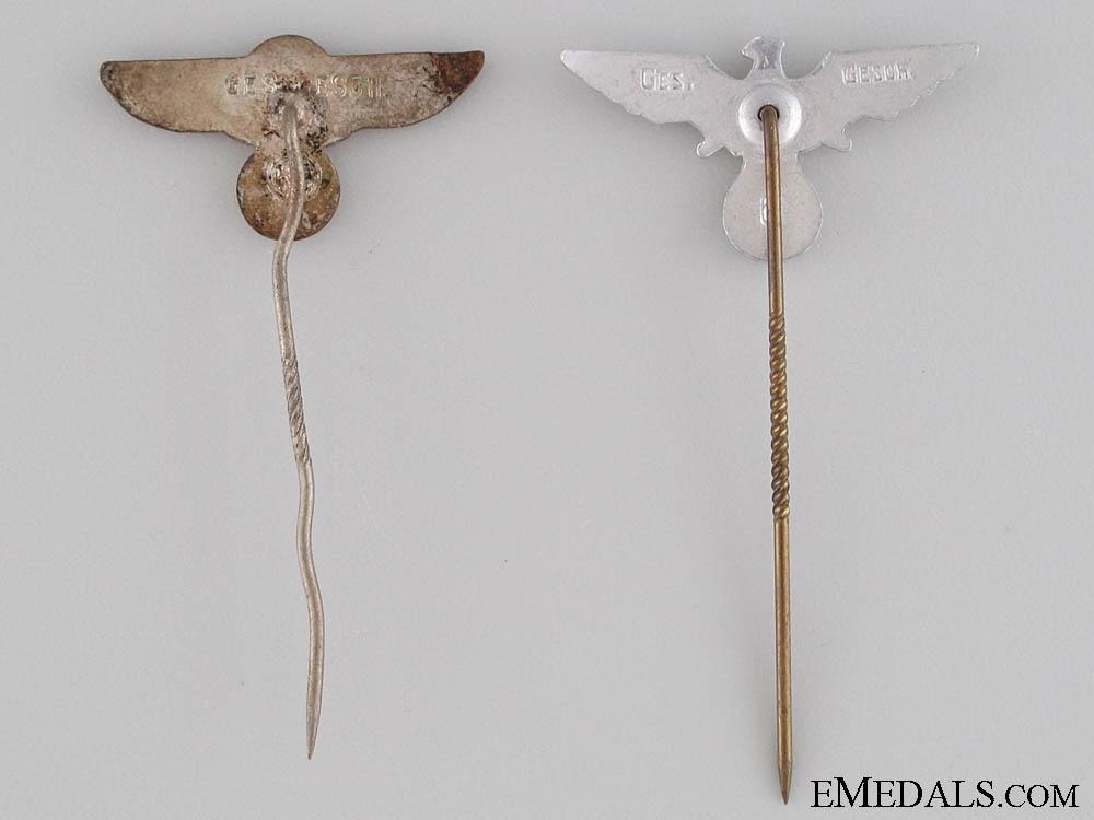 Two Eagle Stickpins