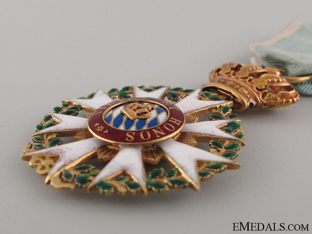 Merit Order of Bavarian Crown