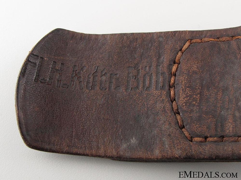 Luftwaffe Enlisted Belt Buckle 1938
