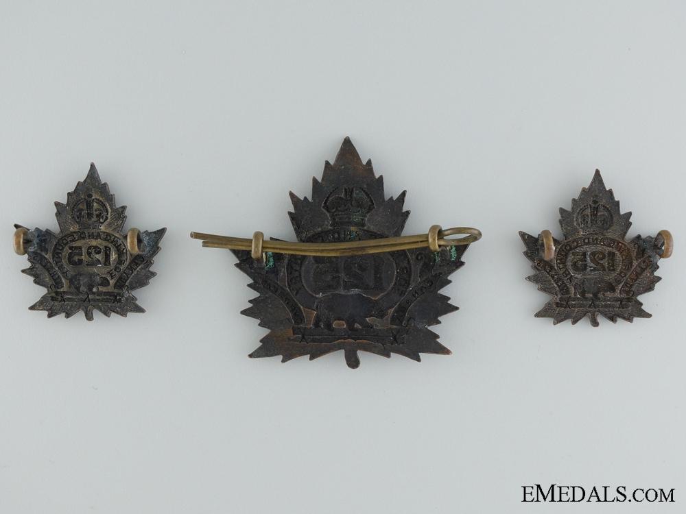 WWI 125th Infantry Battalion Insignia CEF